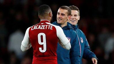 Ligue Europa : Lacazette – Griezmann, duel entre meilleurs amis