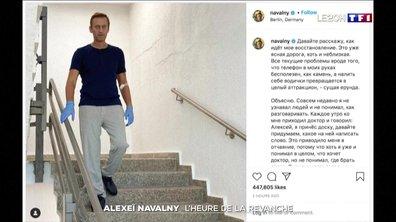 Alexeï Navalny : l'heure de la revanche