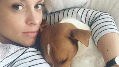 """A quelques jours d'accoucher, Alexia Mori fait une déclaration à son """"premier bébé"""""""