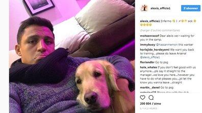 Arsenal: Alexis Sanchez s'exprime sur Instagram... et s'attire les foudres de nombreux fans