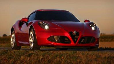 Alfa Romeo 4C 2013 : nouvelles photos, vidéo et prix italien