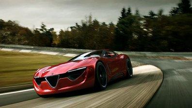 Alfa Romeo 6C : future gamme berline-coupé à venir ?