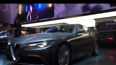 Mondial de l'Auto 2016 : Alfa Romeo Giulia Veloce, puissance maîtrisée