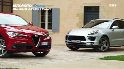 Comparo : Alfa Roméo Stelvio-Porsche Macan, le duel des SUV Premium