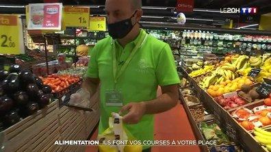 Alimentation : ils font vos courses à votre place