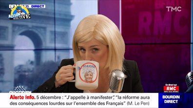 Alison Wheeler détective : l'interview exclusive de Marine Le Pen chez Bourdin