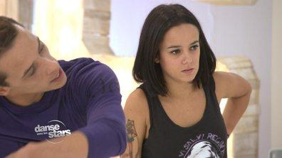 #DALS répétitions : Alizée se blesse  !