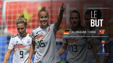 Allemagne - Chine (1-0) : Voir le but de Giulia Gwinn en vidéo