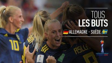 Allemagne - Suède : Voir tous les buts du match en vidéo