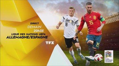 Allemagne - Espagne : Rendez-vous jeudi à 20h35 sur TFX !