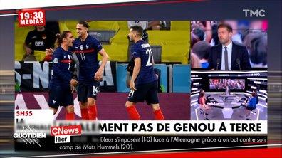 Allemagne-France : pourquoi les Bleus n'ont pas posé un genou à terre comme prévu ?