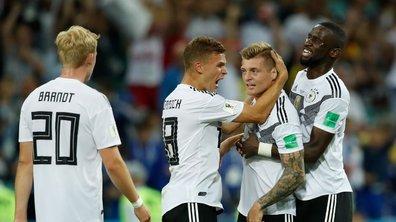 Malgré sa victoire inespérée sur la Suède, l'Allemagne n'est pas tirée d'affaire