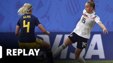 Allemagne - Suède - Coupe du Monde Féminine de la FIFA, France 2019