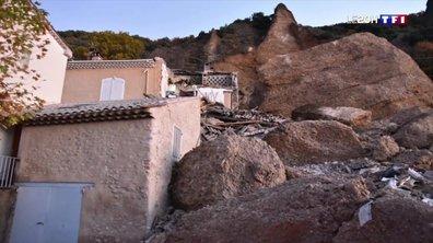 Alpes-de-Haute-Provence : un rocher de 3 000 mètres cubes s'effondre sur des maisons aux Mées