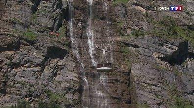 Alpes suisses : la vallée des cascades