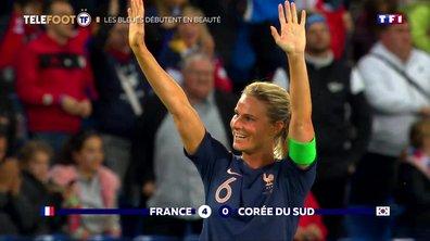 Coupe du monde : Les Bleues débutent en beauté