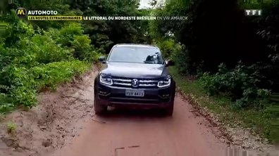 Le littoral du Nordest brésilien en Volkswagen Amarok