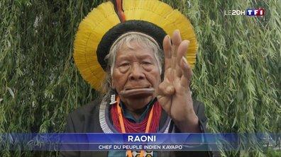 Amazonie : le chef indien Raoni demande le départ de Jair Bolsonaro