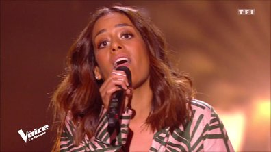 "Amel Bent : ""Si on te demande"" en live sur la scène de ""The Voice"""