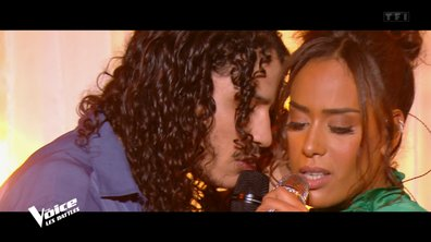 "The Voice 2021 - Amel Bent et Hatik chantent ""1,2,3"""