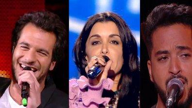 Amir, Jenifer et Slimane réunis sur scène !