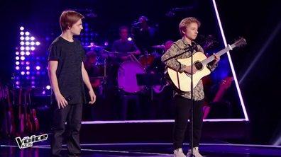 INÉDIT – Pour la première fois, un duo se présente aux auditions à l'aveugle !
