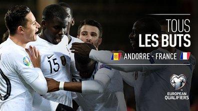 Andorre - France : Voir tous les buts du match en vidéo