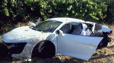 People : crash du footballeur Anderson en Audi R8