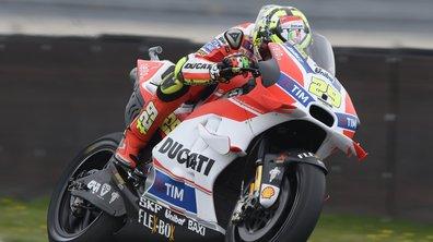 MotoGP Allemagne 2016 - Essais 1 : Iannone maîtrise l'humide Sachsenring