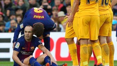 FC Barcelone : Iniesta devrait manquer Chelsea