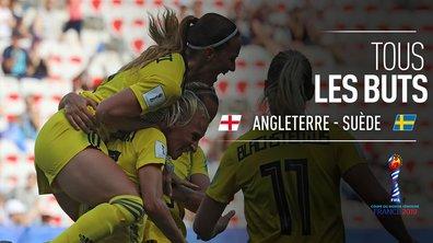Angleterre - Suède : Voir tous les buts du match en vidéo