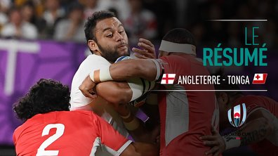Angleterre - Tonga : Voir le résumé du match en vidéo