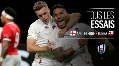 Angleterre - Tonga : Voir tous les essais du match en vidéo