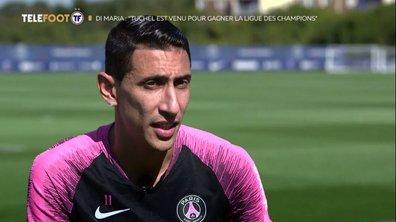 Exclu Téléfoot – Angel di Maria : « J'espère que mon dernier club en Europe sera Paris »