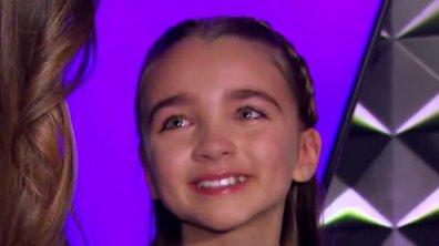 Kids. Angelina fond en larmes dans les bras de Karine Ferri