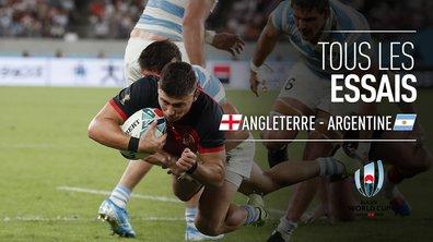 Angleterre - Argentine : Voir tous les essais du match en vidéo