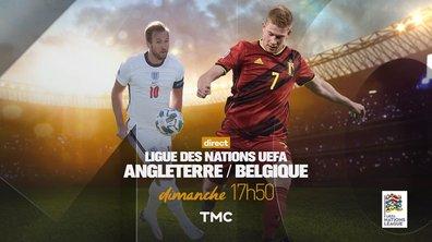 Angleterre - Belgique : Rendez-vous dimanche à 18h sur TMC