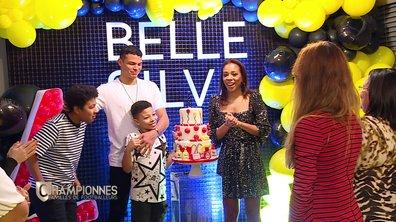 Championnes – Belle Silva, heureuse de fêter son anniversaire avec Thiago et leurs enfants