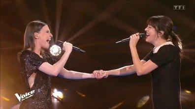 """The Voice All Stars - Anne Sila et Nolwenn Leroy chantent """"Quand on a que l'amour"""" de Jacques Brel (Finale)"""