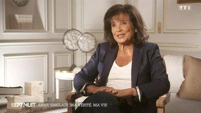 Anne Sinclair se confie sur les moments marquants de sa vie et de sa carrière