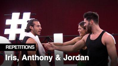 """Répétitions - """"Te quiero tous les deux"""" Anthony Colette, professeur de flamenco pour Iris Mittenaere et Jordan Mouillerac"""