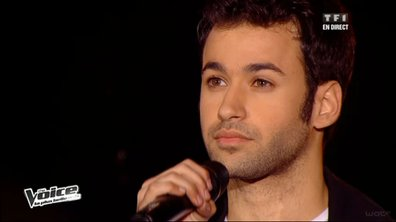 "The Voice : l'appel d'Anthony Touma avec le tube ""Je veux chanter pour ceux"" de Michel Berger"