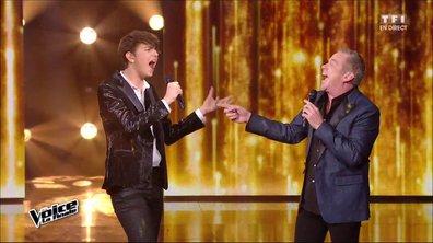 Antoine et Garou réunis pour chanter en direct « My Way » lors de la finale (Saison 05)