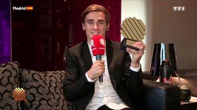 Antoine Griezmann, Q d'Or du footballeur de l'année 2016