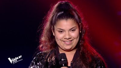The Voice Kids : Antonia chante « The power of love » de Céline Dion (Team Amel Bent)