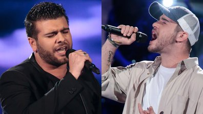 "THE VOICE 2020 - Antony Trice VS Julian chantent ""With or without you"" de U2"