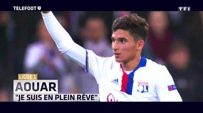 """[EXCLU Téléfoot 21/01] – Ligue 1 / OL - Houssem Aouar : """"Porter le maillot de Lyon est un rêve"""""""