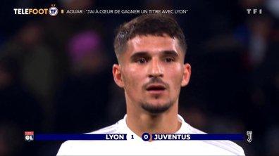 Houssem Aouar revient sur la victoire face à la Juve