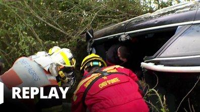 Appels d'urgence - Pièges de la route et incendies : les pompiers de Normandie sur le pont