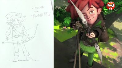 Apprends à dessiner Robin des bois